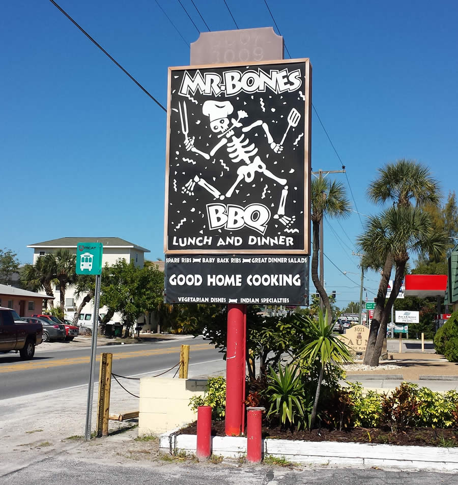 Mr. Bones in Anna Maria Island, Florida