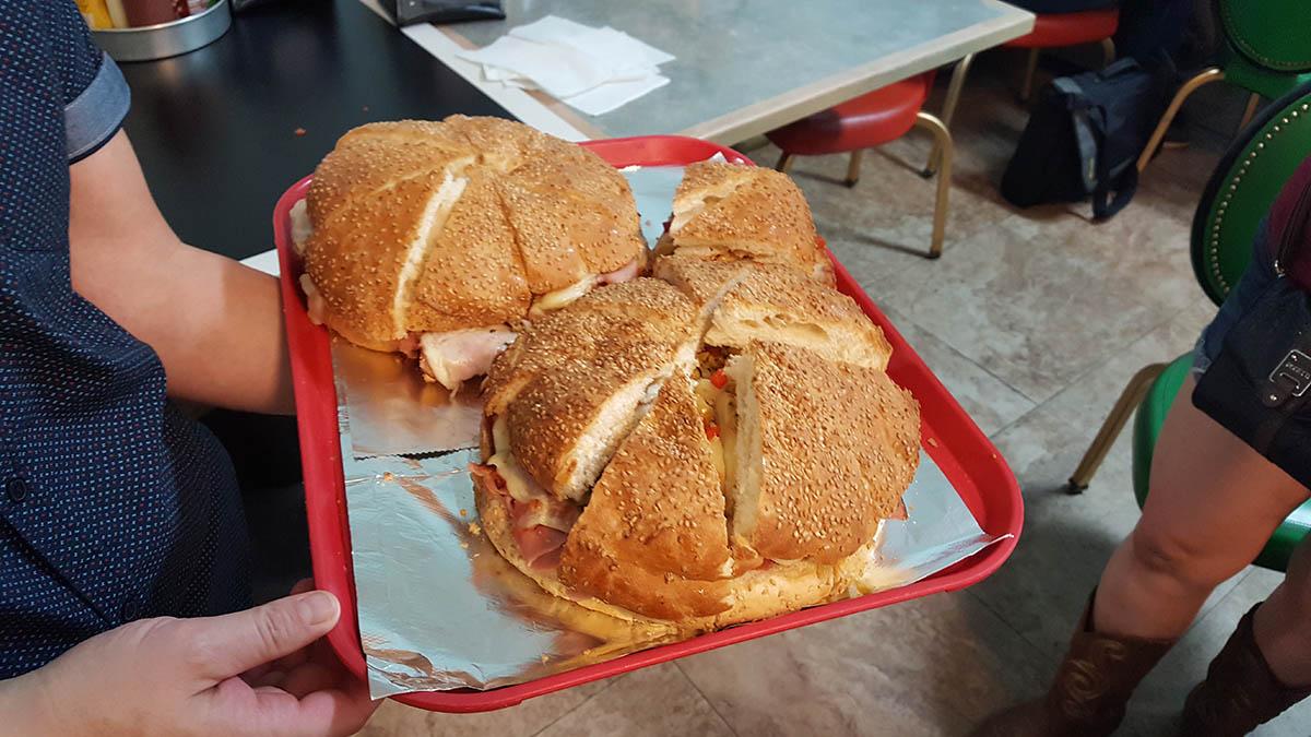 Muffaleta Sandwich