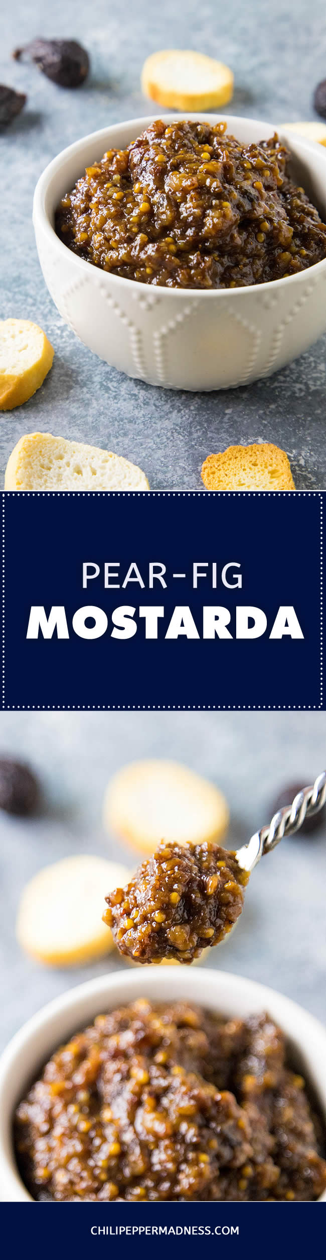 Pear-Fig Mostarda - Recipe