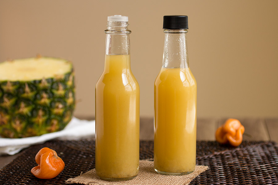 Pineapple-Habanero Hot Sauce – Recipe