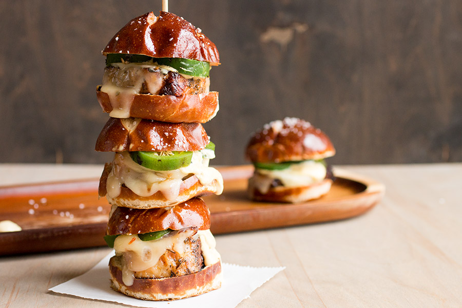 Pork Sliders with Creamy Honey Mustard – Recipe