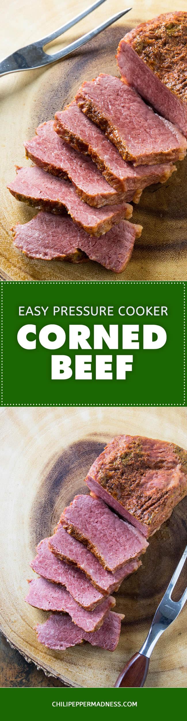 Pressure Cooker Corned Beef Recipe #cornedbeef #beef #brisket #recipe #pressurecooker #instantpot
