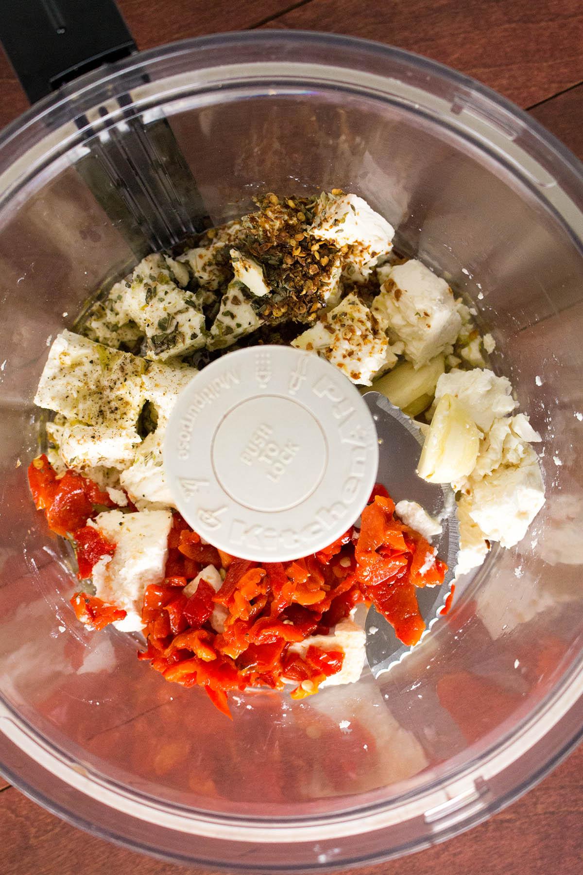 Roasted Red Pepper-Feta Cheese Dip (Htipiti) – Recipe