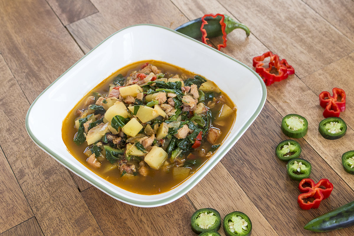 Rustic Turkey, Ham and Vegetable Soup