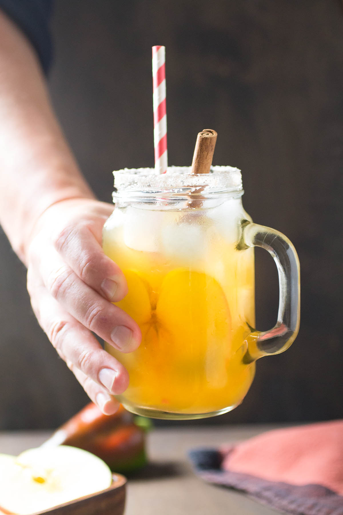 Salted Caramel Apple Cocktail - Recipe
