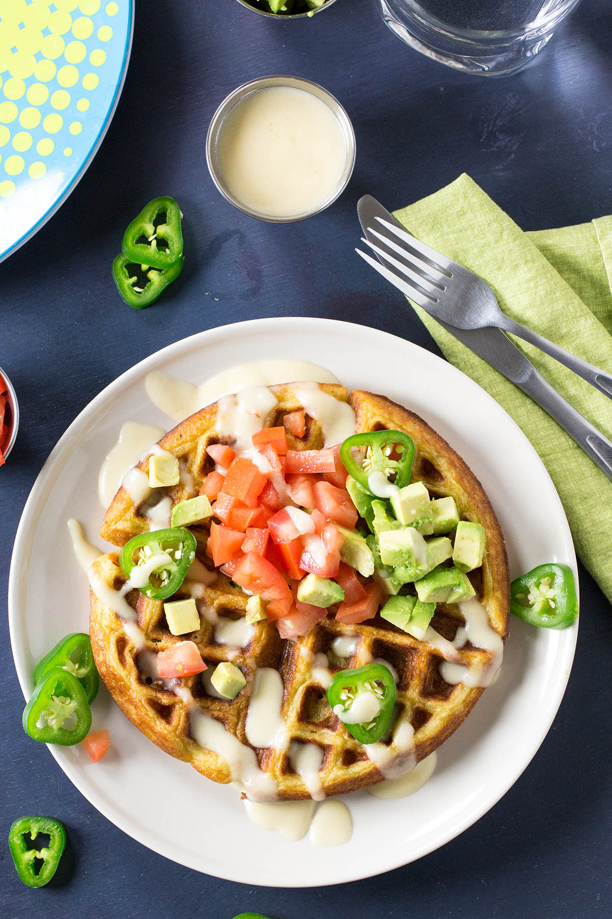 Savory Jalapeno-Beer Cheese Waffles – Recipe