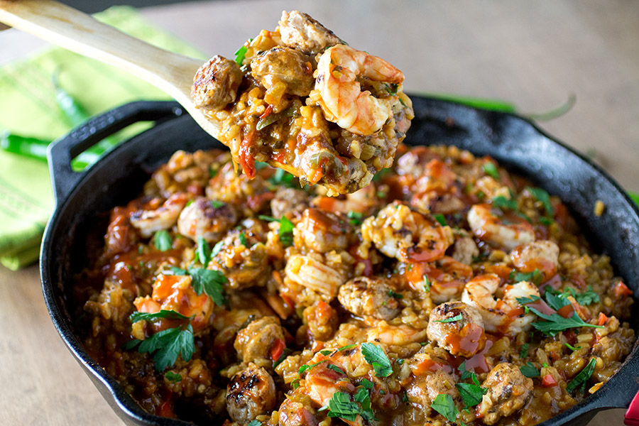 Seriously Awesome Jambalaya Recipe - Madness Style