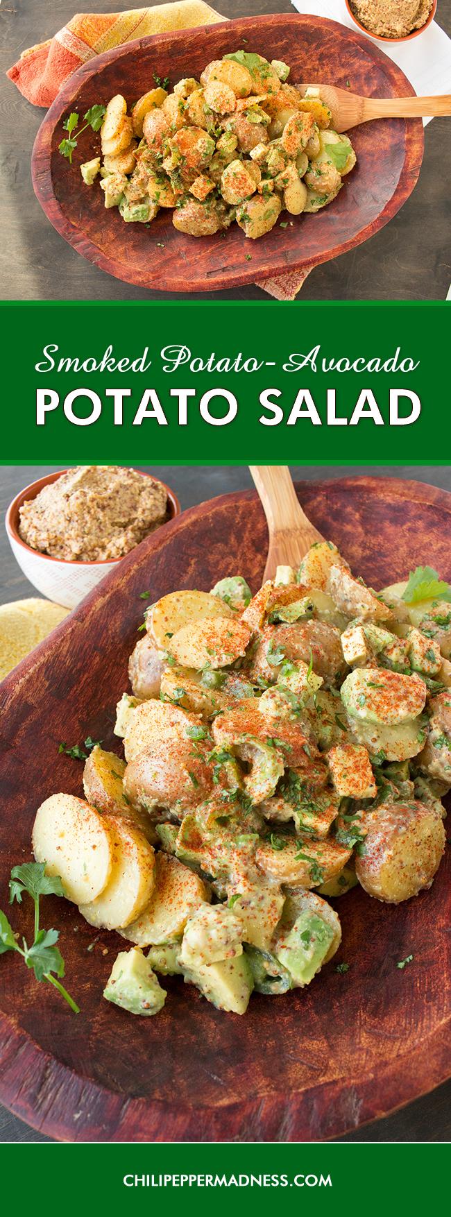 Smoked Potato-Avocado Potato Salad Recipe