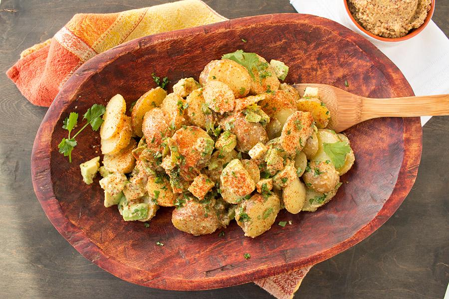 Smoked Potato-Avocado Salad - Recipe