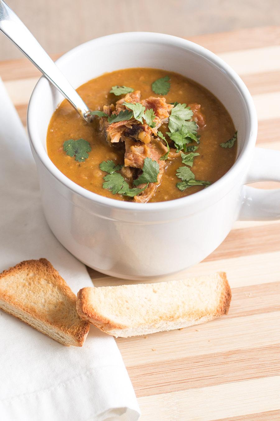 Southwest Style Split Pea Soup