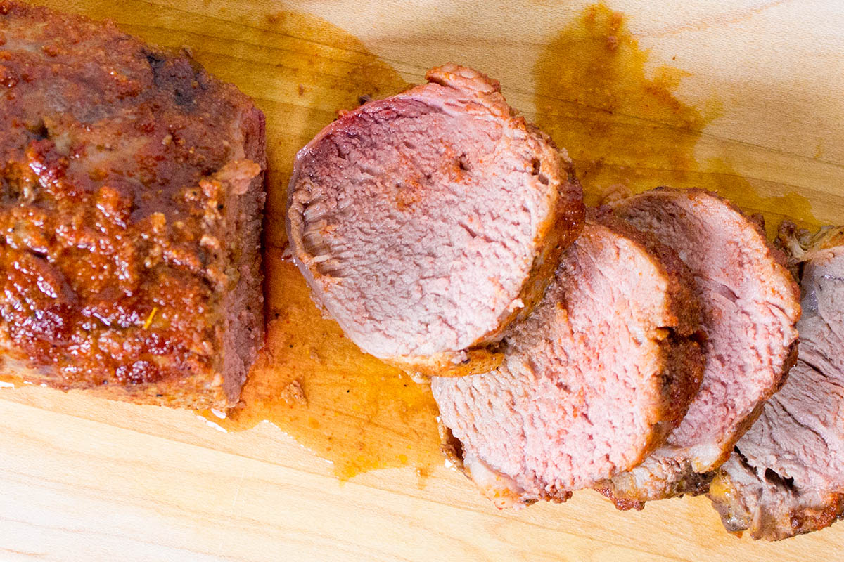 Spice Rubbed Roasted Pork Tenderloin - Recipe