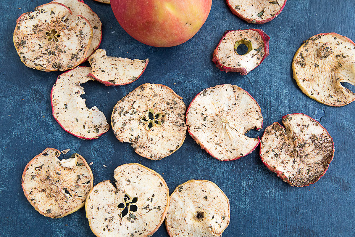 Image result for spiced apple chips""