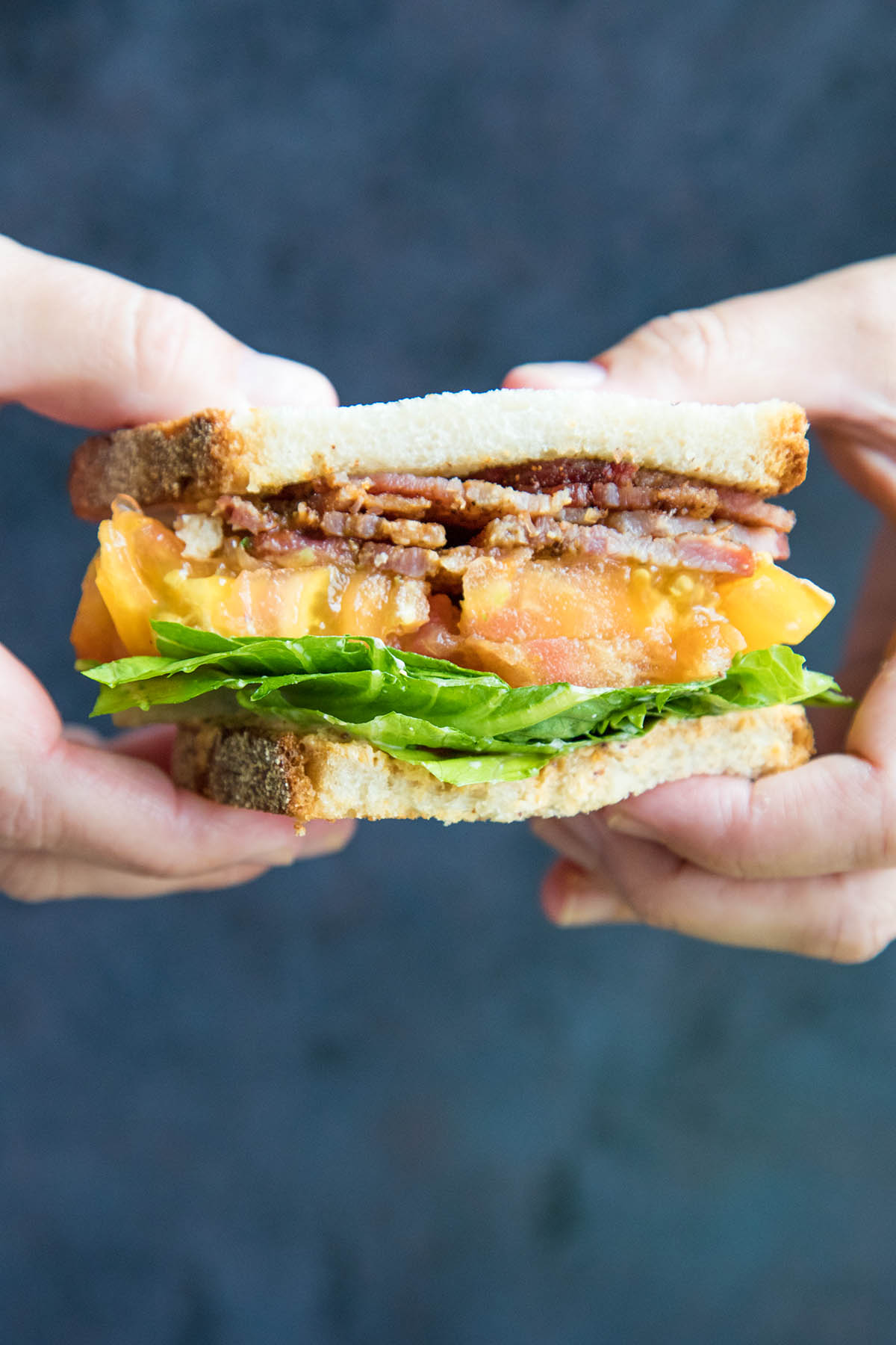 Spicy Madness Style BLT Sandwich – Recipe