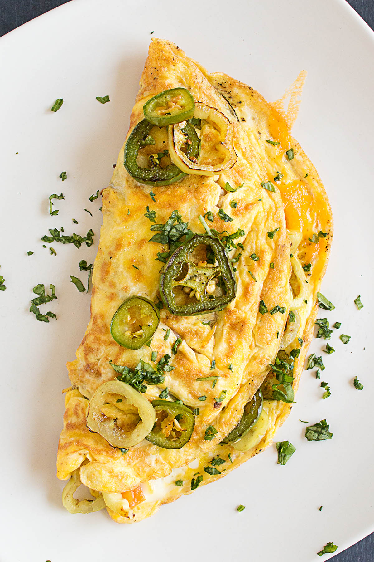 Spicy Pepper Lovers Omelet – Recipe