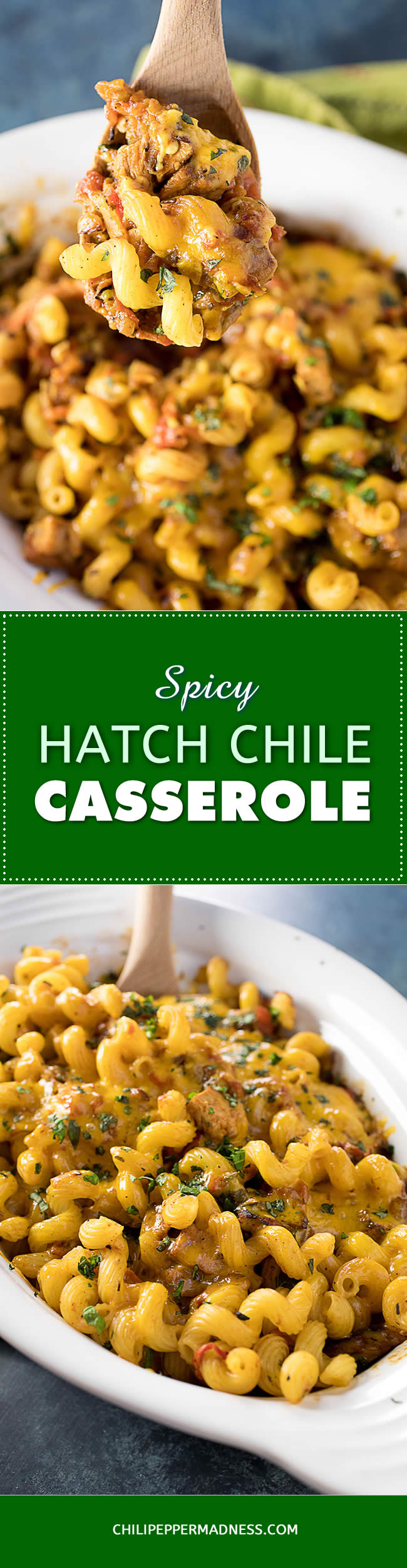 Spicy Pork-Hatch Chili Casserole - Recipe