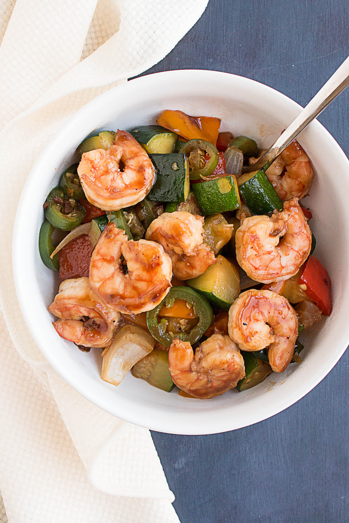 Spicy Teriyaki Shrimp Stir Fry – Recipe