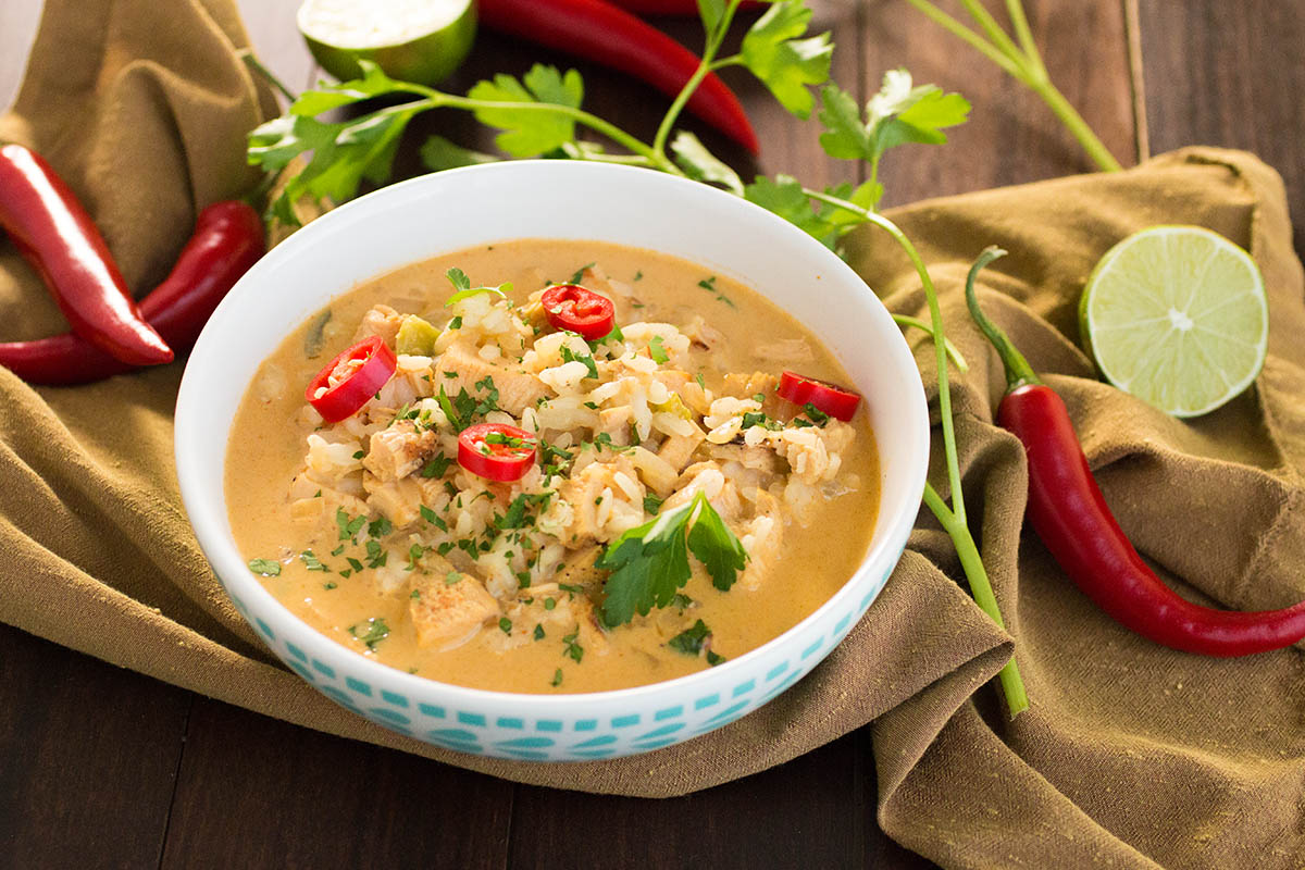 Spicy Thai Curry Chicken Soup – Recipe