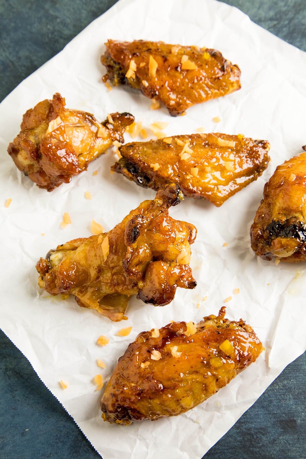 Sticky Habanero Glazed Chicken Wings Recipe