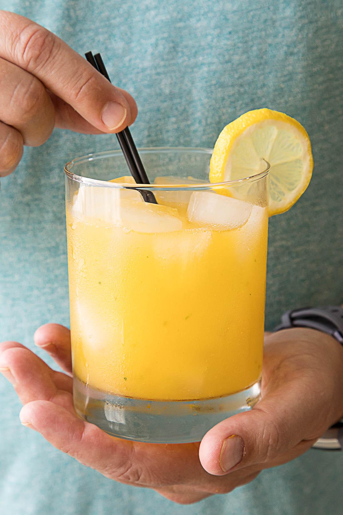 SSummer Heat Wave – a Fiery Mango-Habanero Cocktail - Recipe