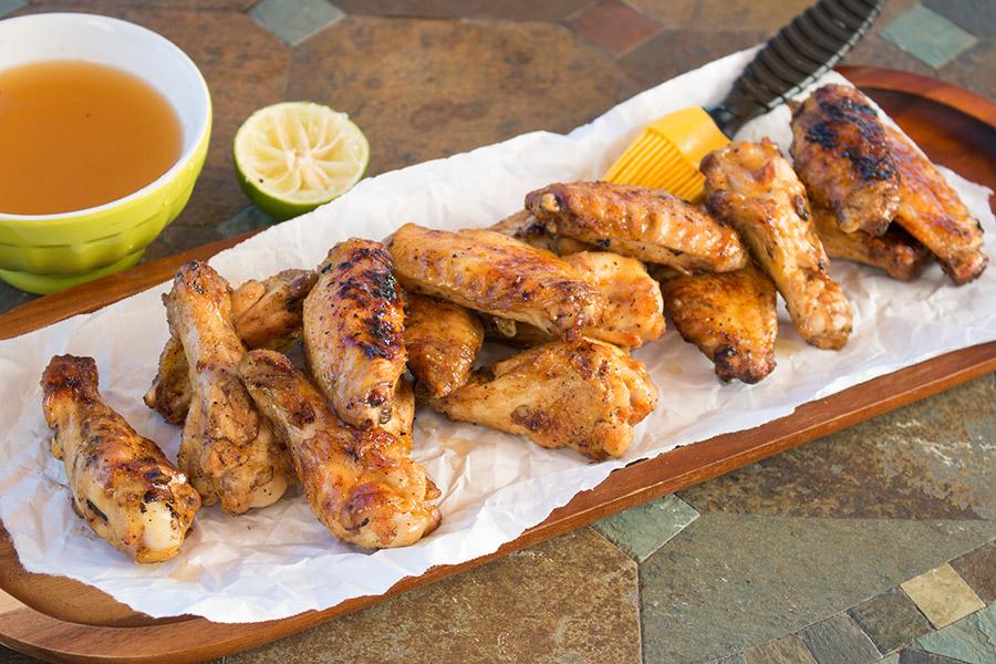 Grilled Margarita Chicken Wings