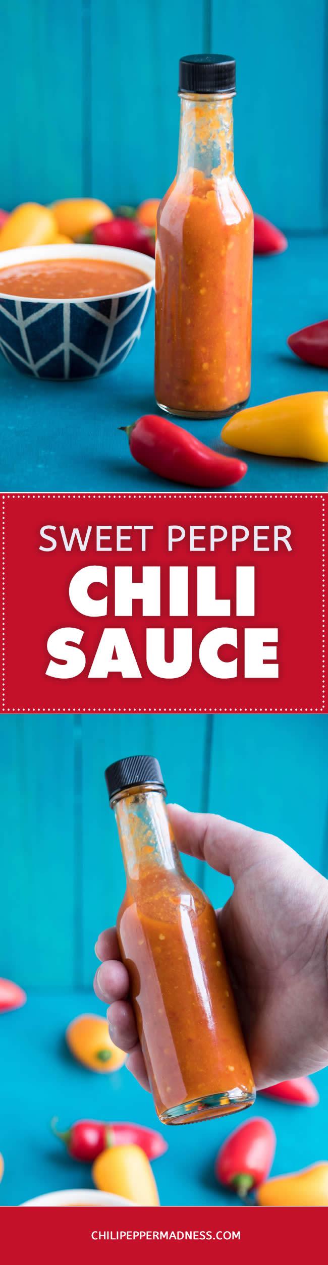 Sweet Pepper Chili Sauce - Recipe