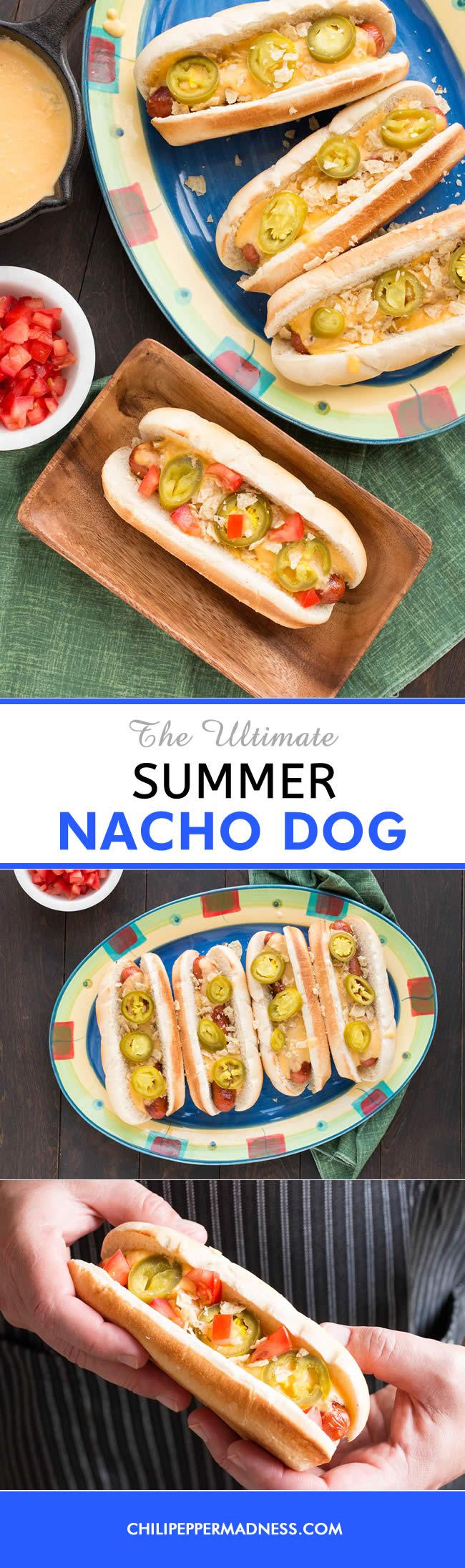 The Ultimate Summer Nacho Dog - Recipe