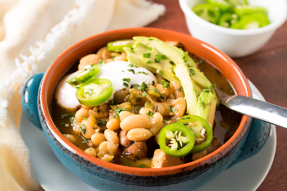 White Bean Chicken Chili - Recipe