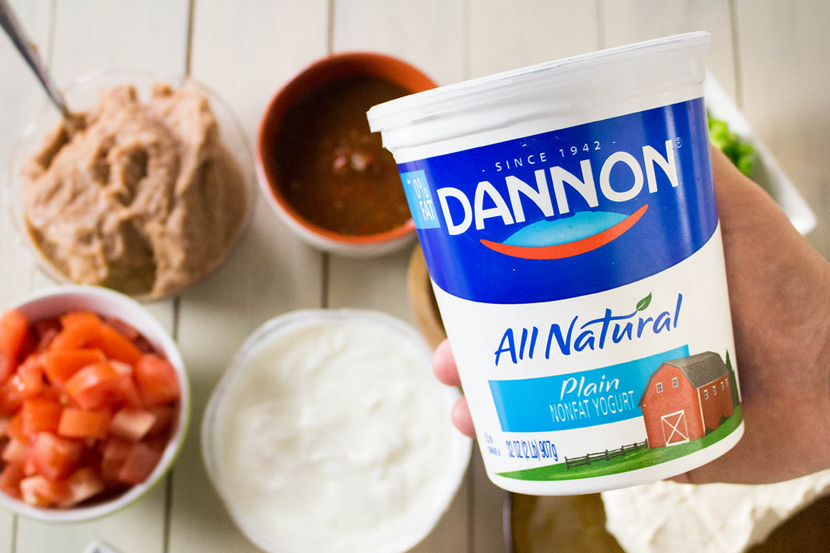 Dannon All Natural Yogurt.