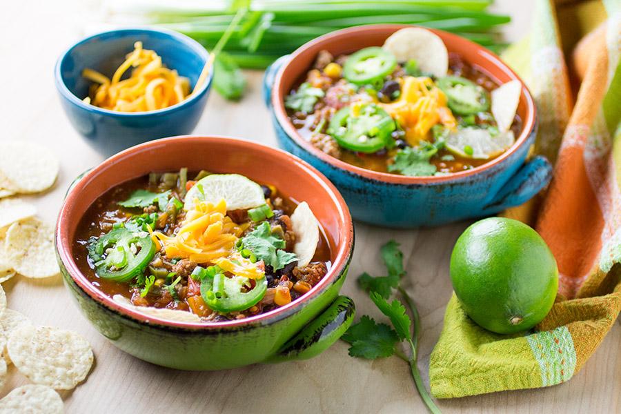 Zesty Taco Soup - Recipe