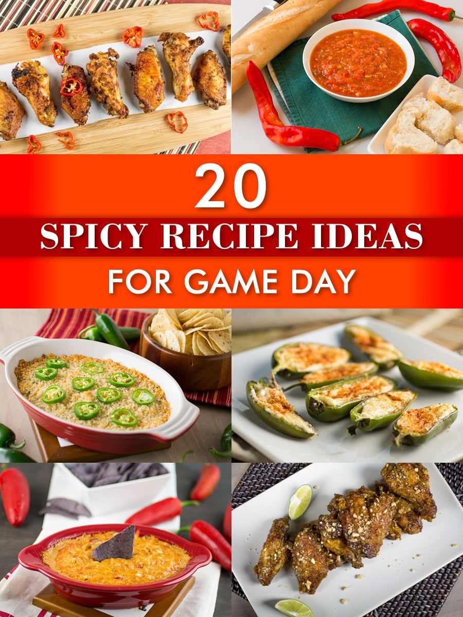 20 Spicy Recipe Ideas for Game Day