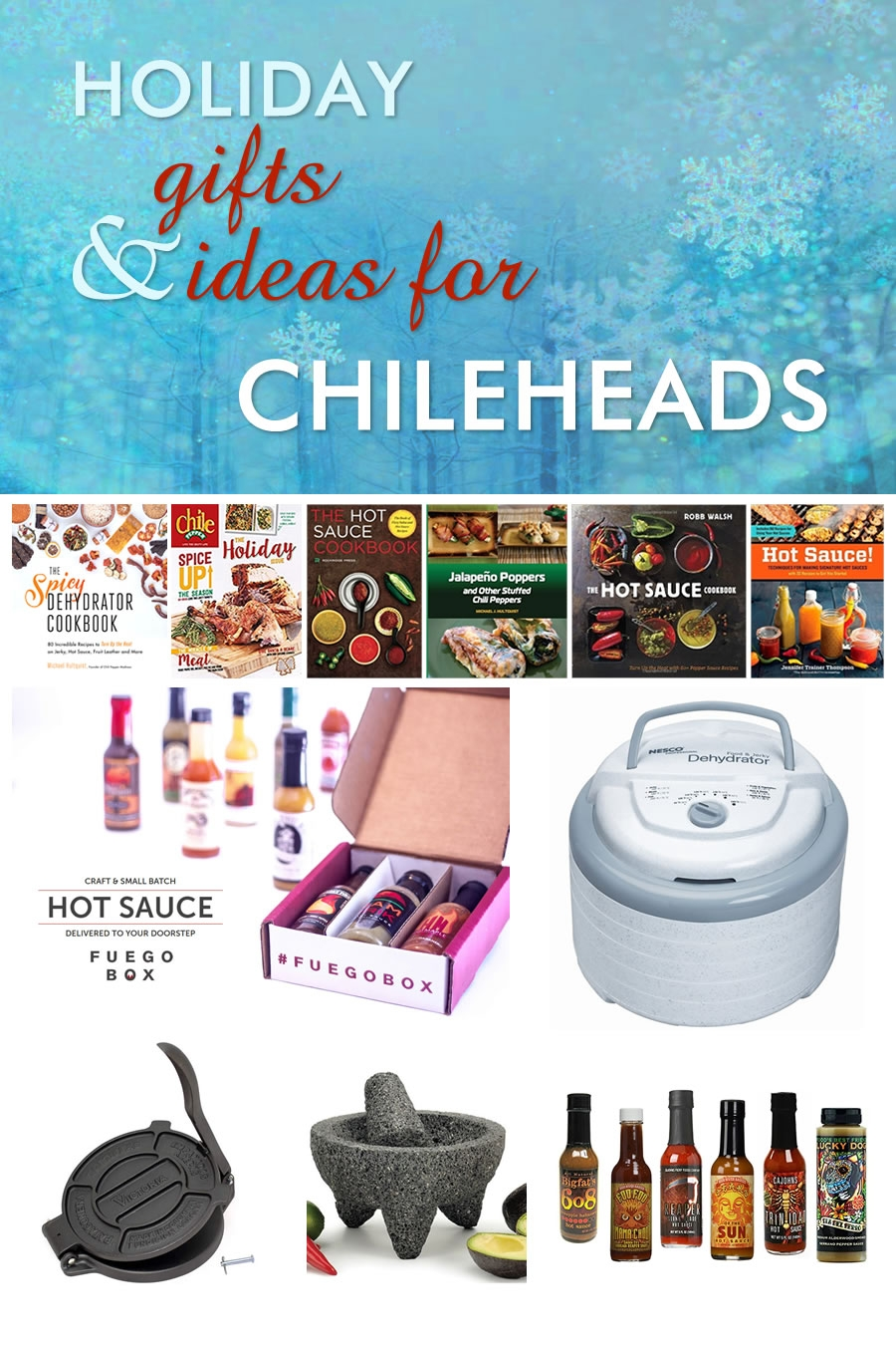 Spicy Gift Ideas for Chileheads