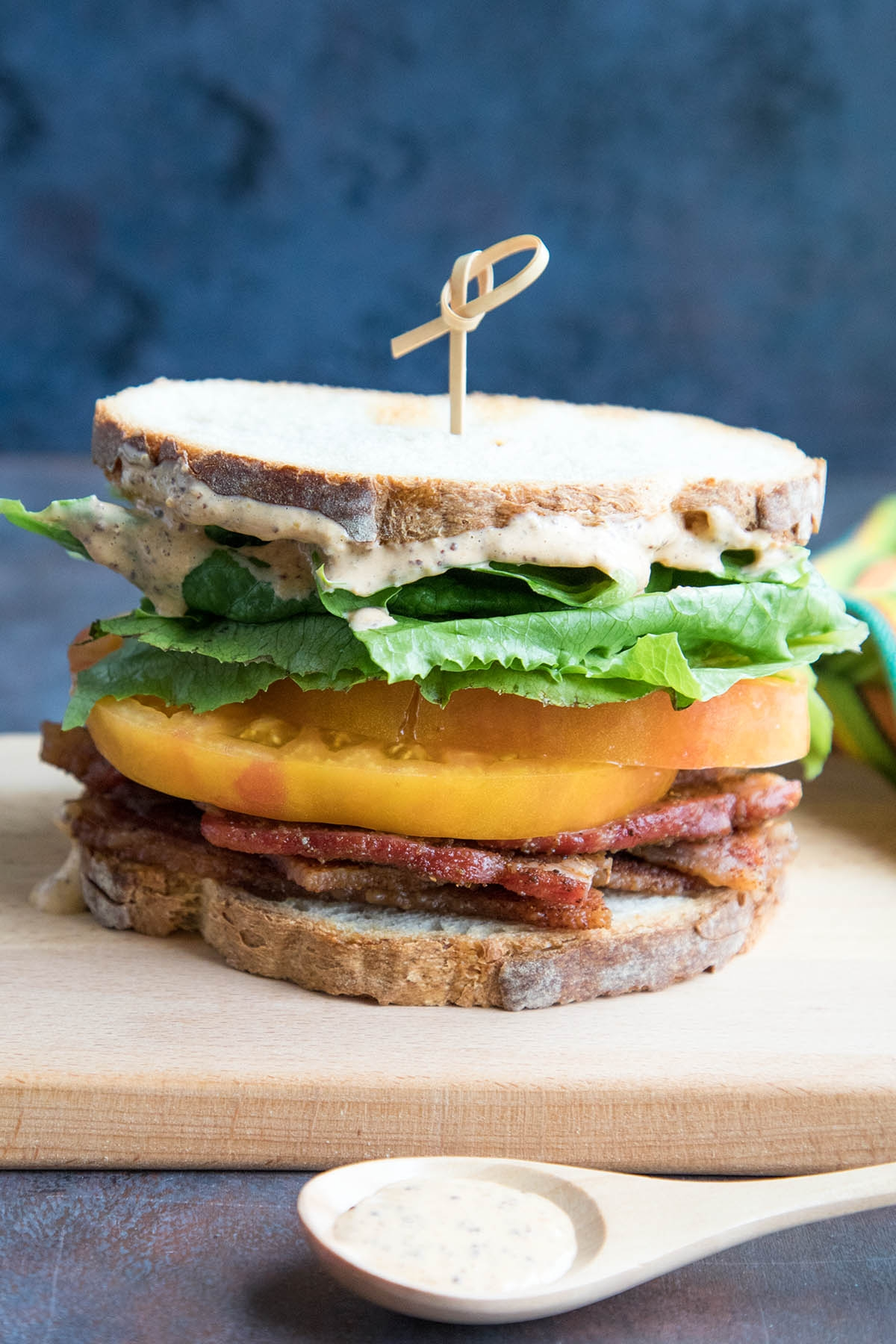 Spicy Madness Style BLT Sandwich