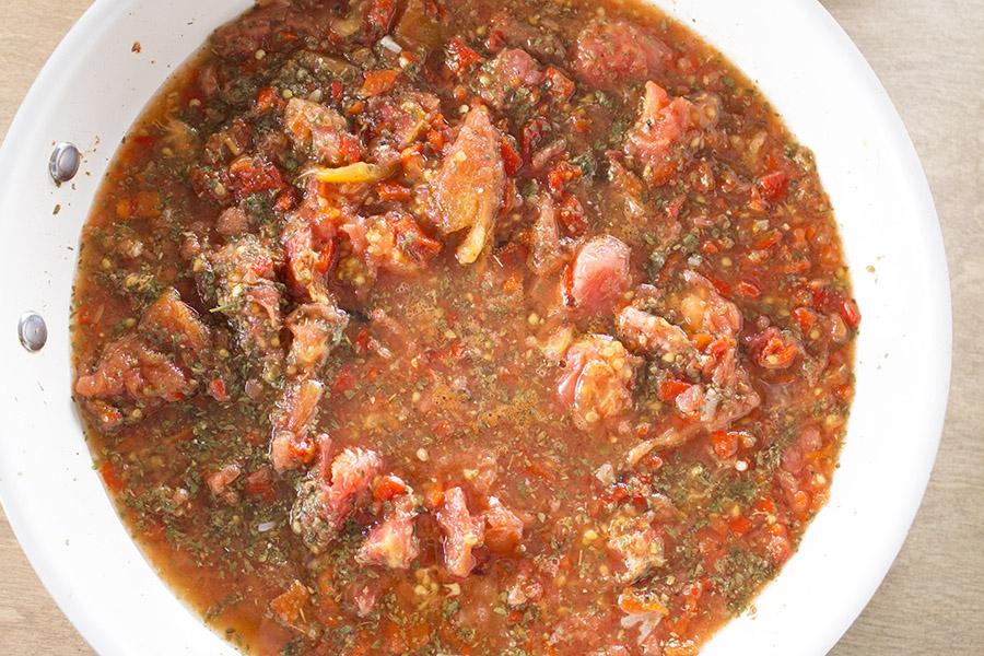 Rustic Tomato-Pepper Sauce