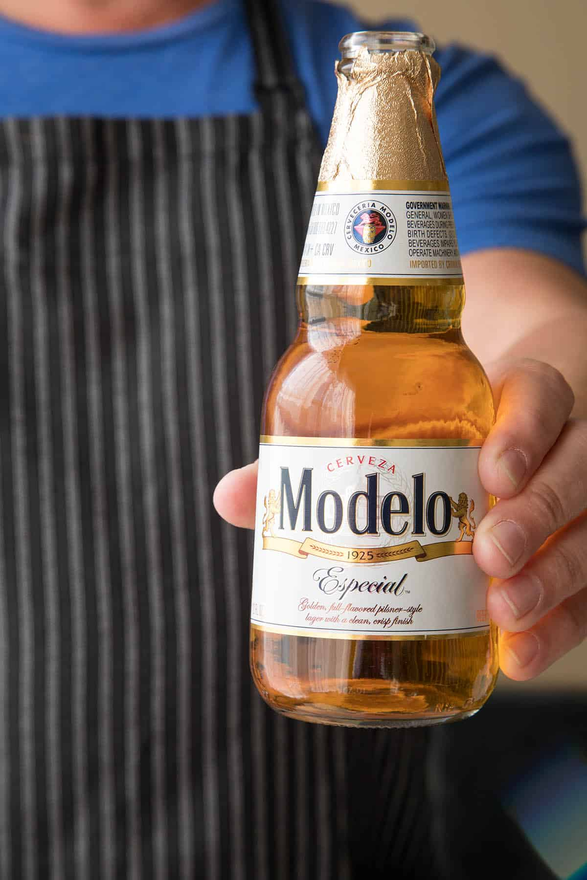 Have yourself a Modelo Especial Beer while you prepare your Mexican Gorditas