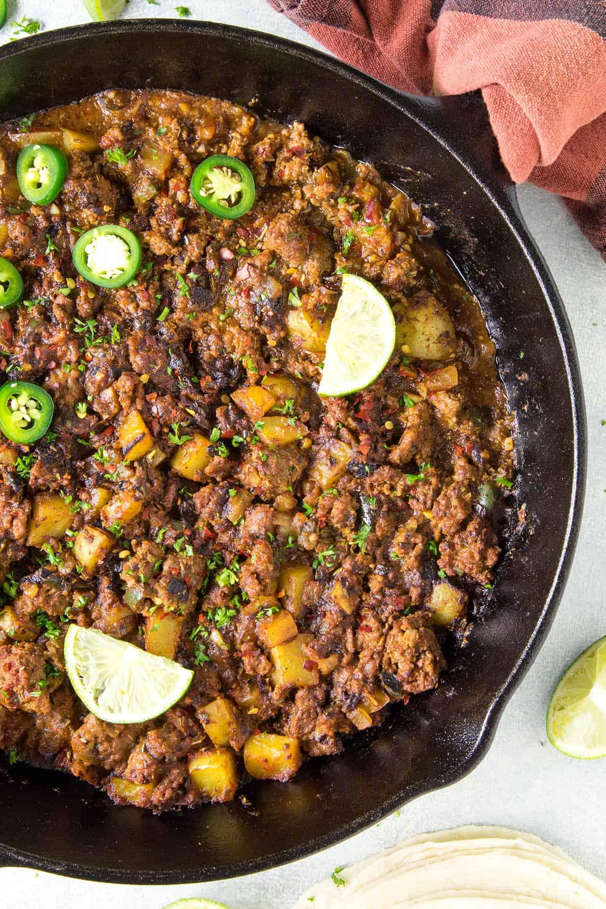 Mexican Picadillo Recipe - from Chili Pepper Madness.