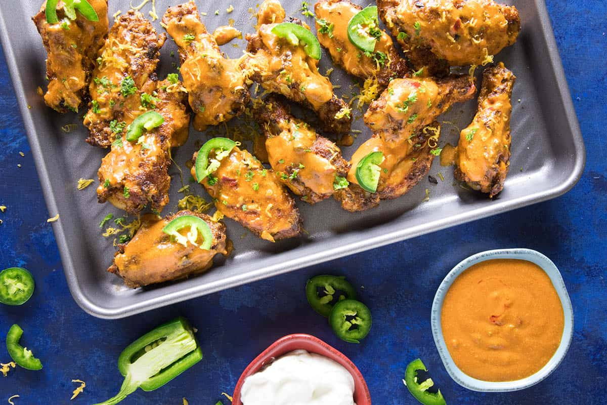 Jalapeno Cheddar Chicken Wings Recipe - Fall-off-the-Bone Delicious