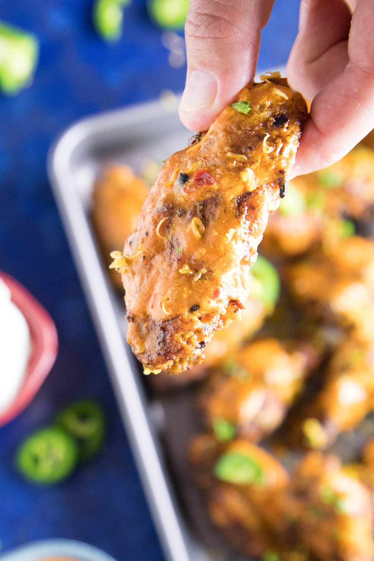 Jalapeno Cheddar Chicken Wings - Cheesy, Tangy, and Fall-off-the-Bone Delicious
