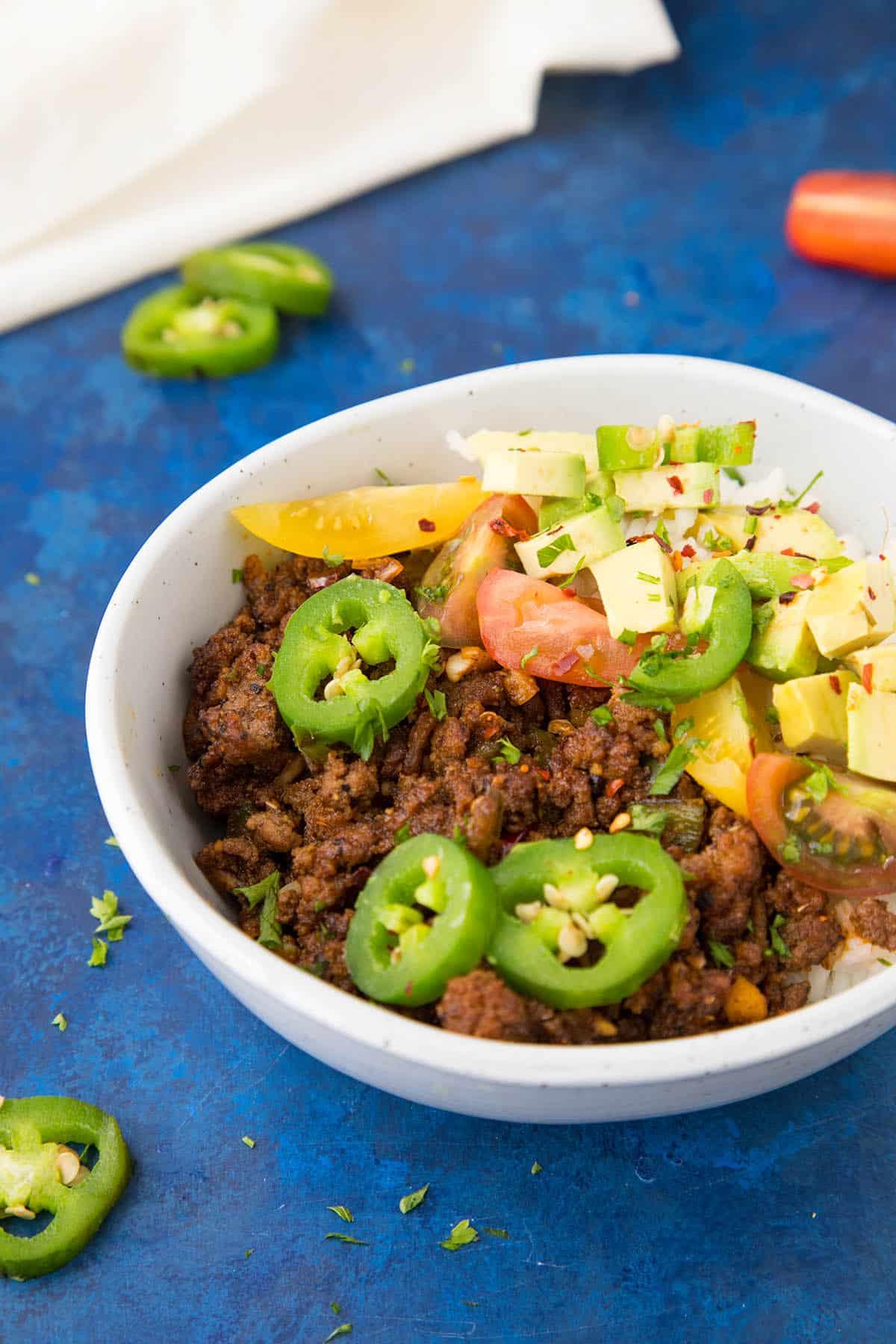 Easy Spicy Taco Bowls