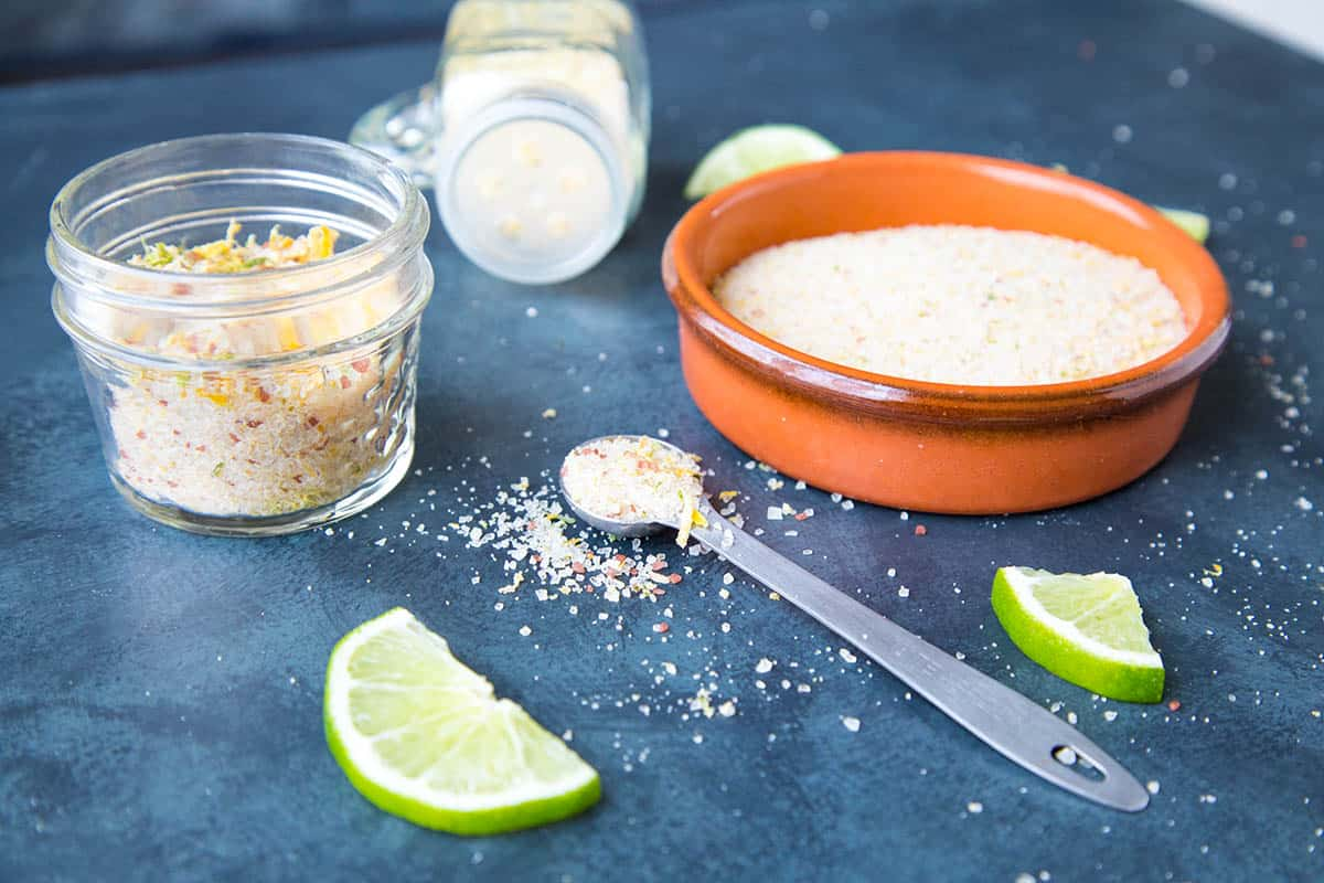 Citrus Lemon and Lime Salt - Ready for you to spice things up.