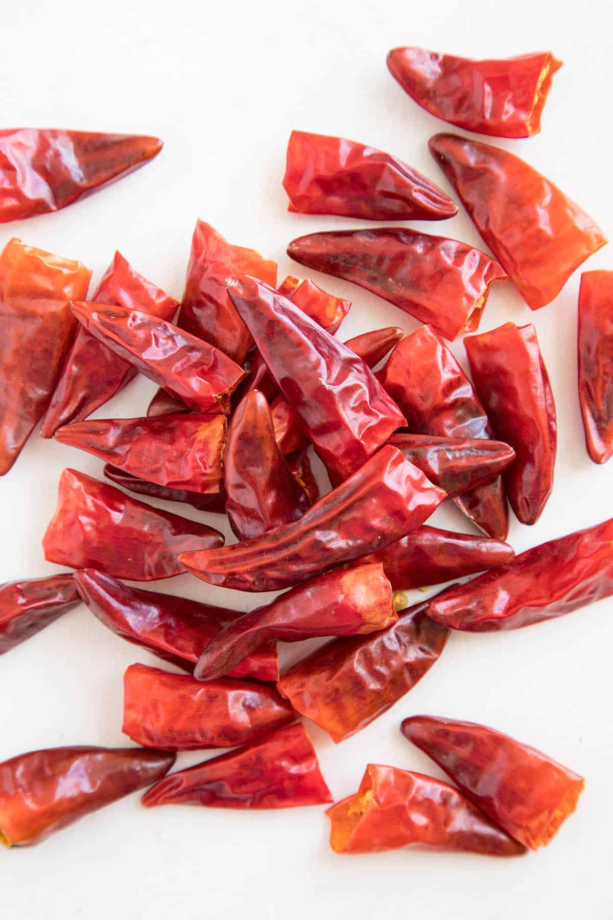 Hawaiian Sweet Hot Chili Peppers - Dried Pods