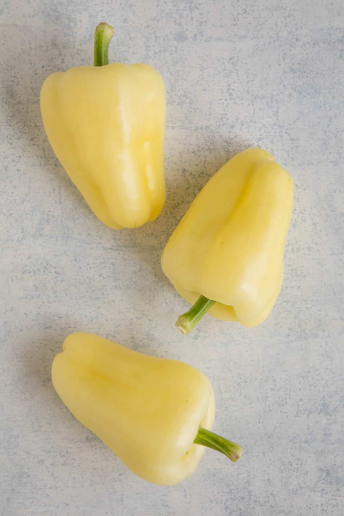 Albino Sweet Pepper