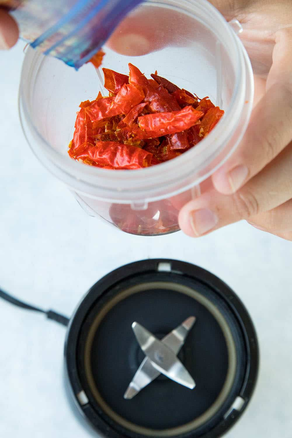 Dried Cayenne Peppers, Ready to Grind