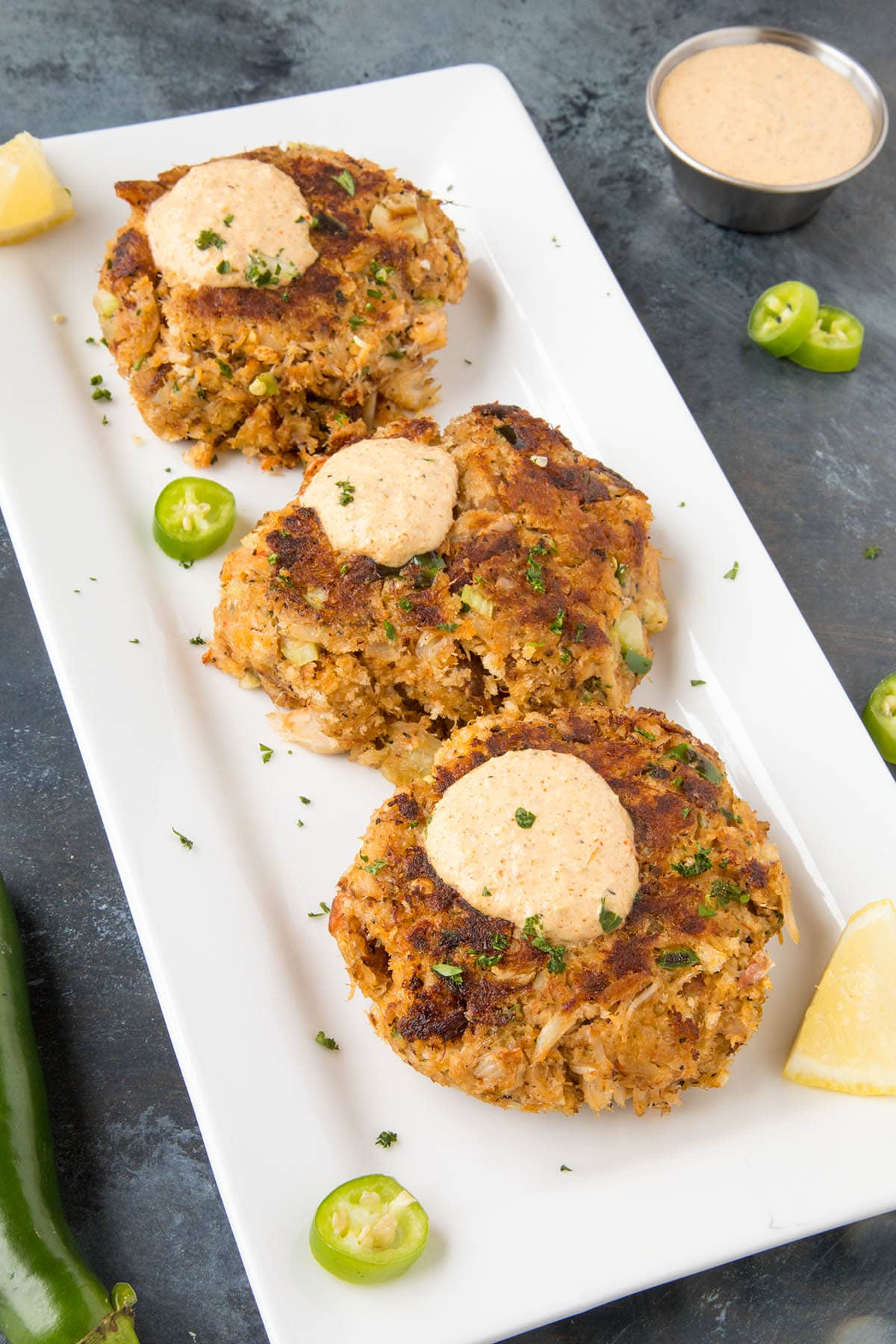 Crab Cakes with Cajun Cream Sauce - Ready to Serve