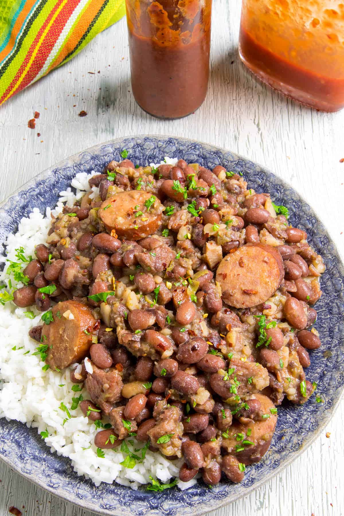 Cajun Red Beans and Rice with Andouille