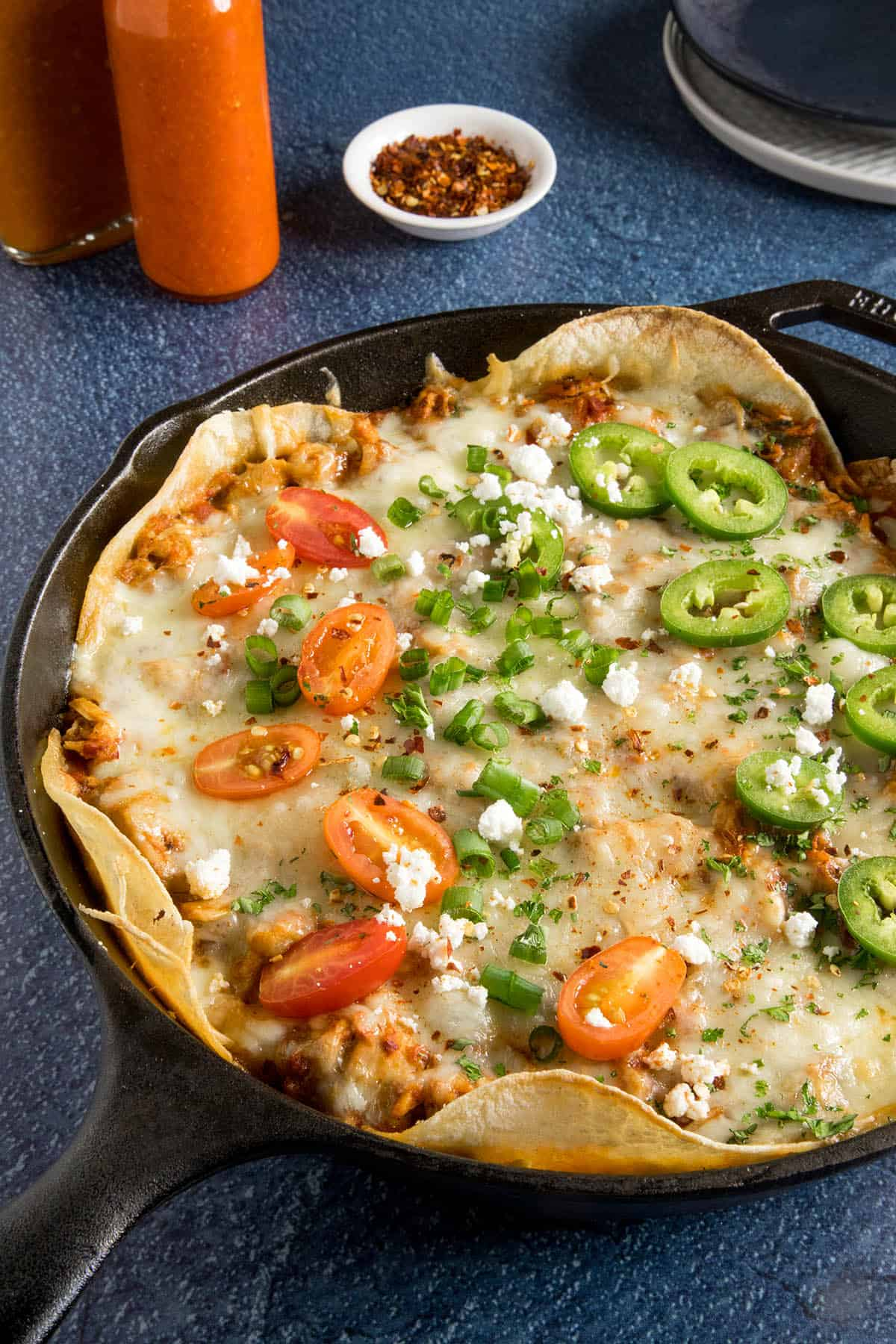 Chipotle Chicken Enchilada Casserole