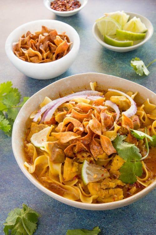 Khao Soi - Thai Coconut Curry - Recipe
