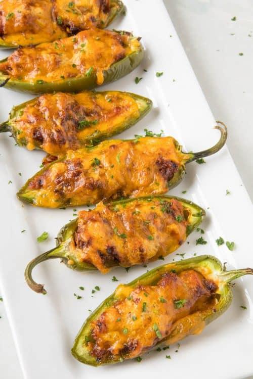 Pulled Pork-Sriracha Jalapeno Poppers - Recipe