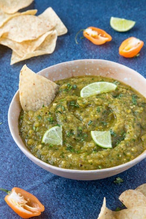 Roasted Pineapple Habanero Salsa - Recipe