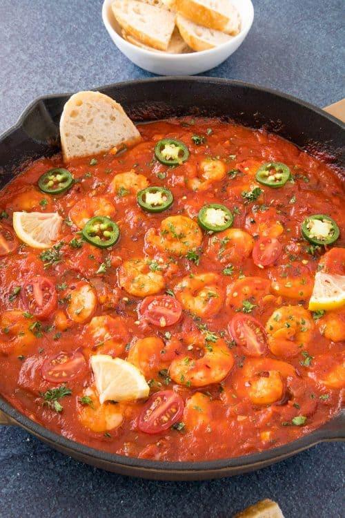Spicy Cajun Shrimp - Recipe