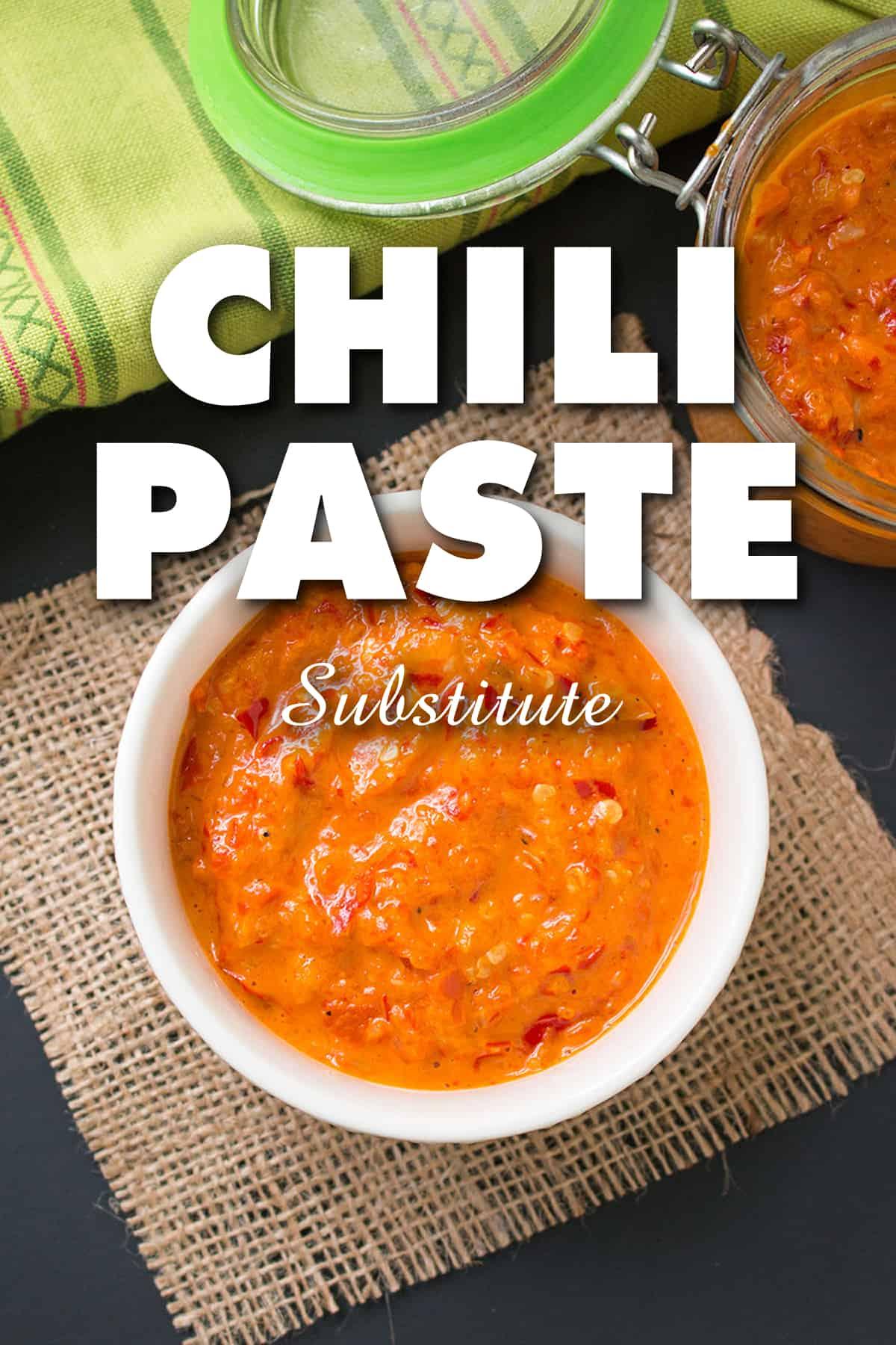 Chili Paste Substitute
